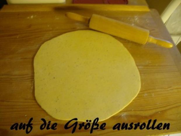 Basis Teig für Quiche Lorraine, Zwiebelkuchen oder andere Gemüsekuchen - Rezept - Bild Nr. 6