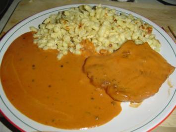 Kotelett in scharfer Tomaten Pfeffersauce - Rezept