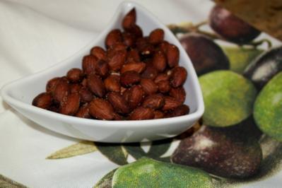 Fingerfood: Paprika-Salz-Mandeln - Rezept