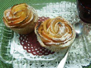Blätterteig-Apfel-Rosen - Rezept