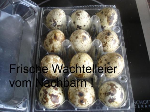 Gemüsereis mit Wachteleier und Hackbällchen - Rezept - Bild Nr. 4