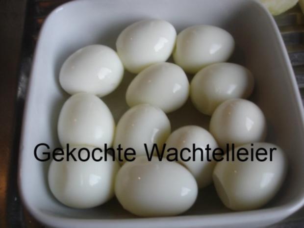 Gemüsereis mit Wachteleier und Hackbällchen - Rezept - Bild Nr. 8