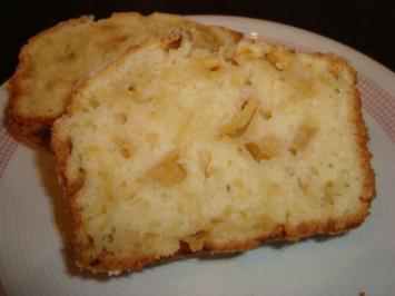saftiger Apfel-Mandel-Rührkuchen - Rezept