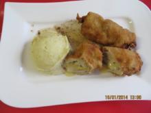 Kochen: Panierte Rouladen mit Reblochon und Kartoffelstampf - Rezept