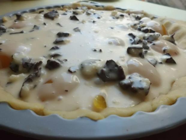 Kuchen: Steuselkuchen-Tarte mit Aprikosen und Kokos - Rezept - Bild Nr. 5