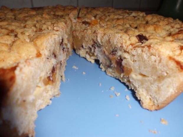 Kuchen: Steuselkuchen-Tarte mit Aprikosen und Kokos - Rezept - Bild Nr. 7