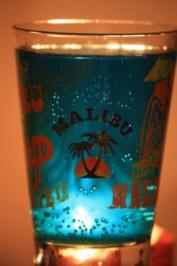 Cocktail: Blaue See - Rezept