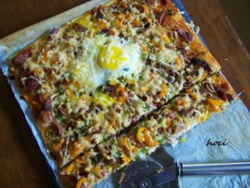 Haxen ~ Pizza - Rezept