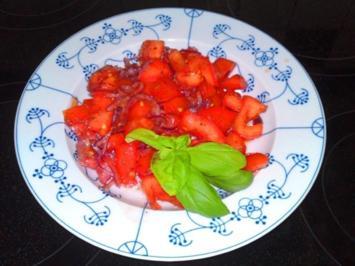 Tomatensalat, Delikat ! - Rezept