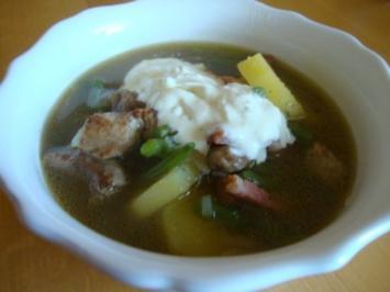 Grüne Bohnen-Fleisch Topf - Rezept