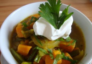 Süßkartoffel-Curry - Rezept