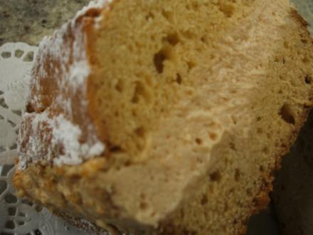 Backen: Apfelmuskuchen mit Vanille - Rezept