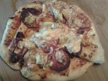 Hefeteig für Pizza / Pizzabrot - Rezept