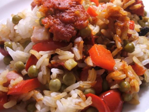 Reis: Serbisches Reisfleisch - Rezept