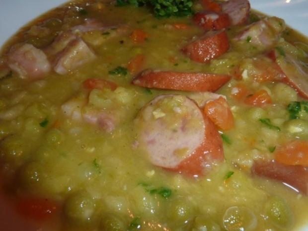 Suppen: Erbsensuppe - Rezept - Bild Nr. 15