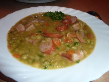 Rezept: Suppen: Erbsensuppe
