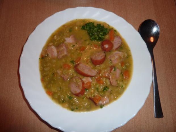 Suppen: Erbsensuppe - Rezept - Bild Nr. 14