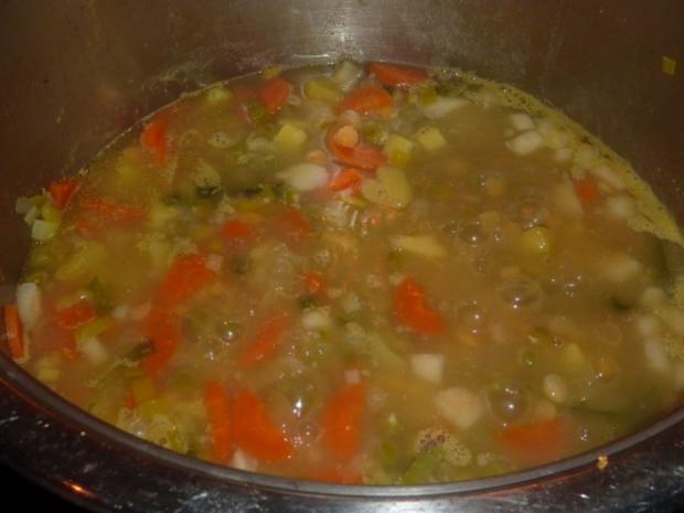 Suppen: Erbsensuppe - Rezept - Bild Nr. 7