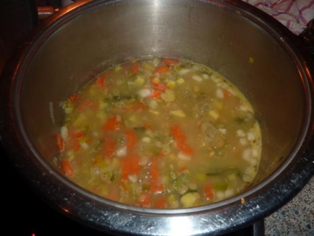 Suppen: Erbsensuppe - Rezept - Bild Nr. 6