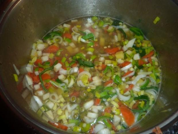 Suppen: Erbsensuppe - Rezept - Bild Nr. 5