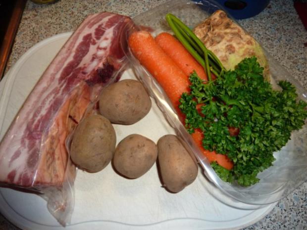 Suppen: Erbsensuppe - Rezept - Bild Nr. 4