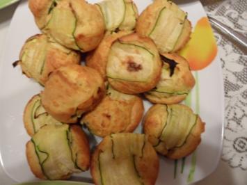 Rezept: Zucchini - Käse Muffins