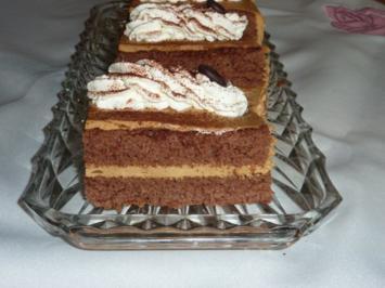 Rezept: Torte: Cappuccinoschnitten