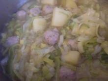 Lauch - Kartoffel -Topf - Rezept