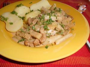 Schnitzel-Kohlrabi-Geschnetzeltes>> - Rezept