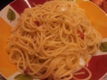 Spaghetti mit Knoblauch und Chilli - Rezept