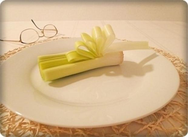 Lauch - Penne in Weißweinsauce und ♔Königsberger Klopse  dazu - Rezept - Bild Nr. 18