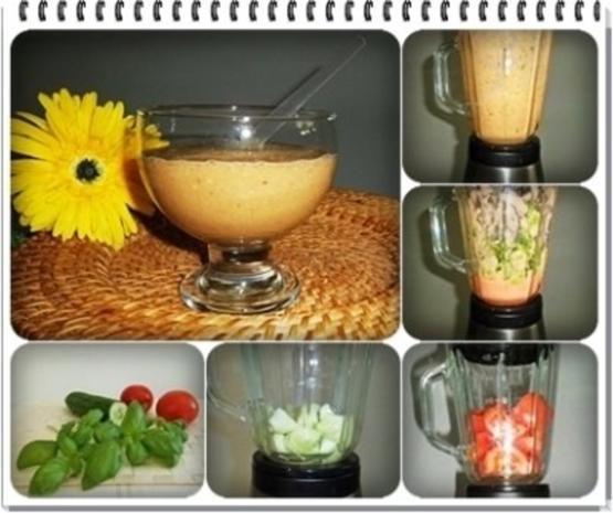Gurken-Tomaten-Salat zur Gewichtsreduktion
