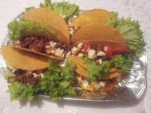 Gefüllte Tacos mit Feta - Rezept
