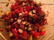 Auberginensalat - Rezept