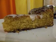 Kuchen: Kokos-Honig-Kuchen - Rezept