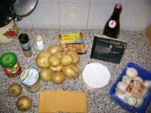 Kartoffel Pilz Auflauf - Rezept