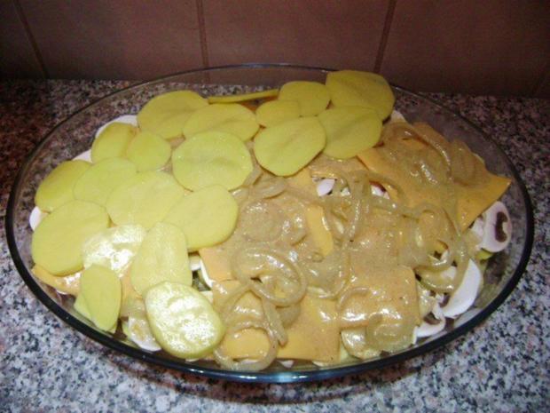 Kartoffel Pilz Auflauf - Rezept - Bild Nr. 8
