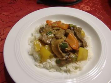 Rindfleisch aus dem Wok à la Heiko - Rezept