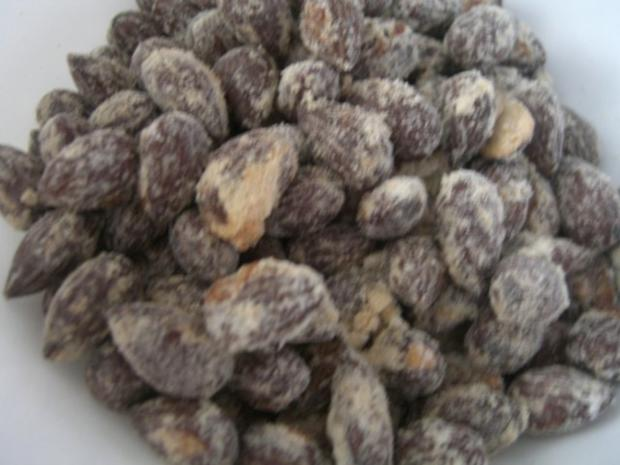 Geröstete Salzmandeln - Rezept