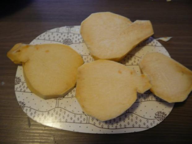 Steckrüben+ Kartoffeln + Rindergulasch. - Rezept - Bild Nr. 3