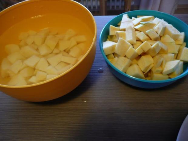 Steckrüben+ Kartoffeln + Rindergulasch. - Rezept - Bild Nr. 4