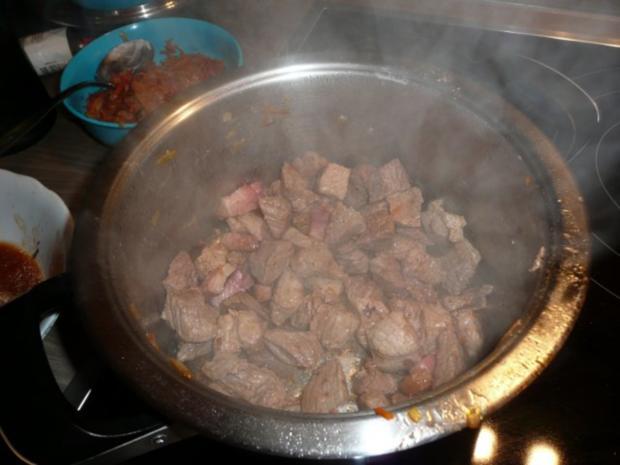 Steckrüben+ Kartoffeln + Rindergulasch. - Rezept - Bild Nr. 10