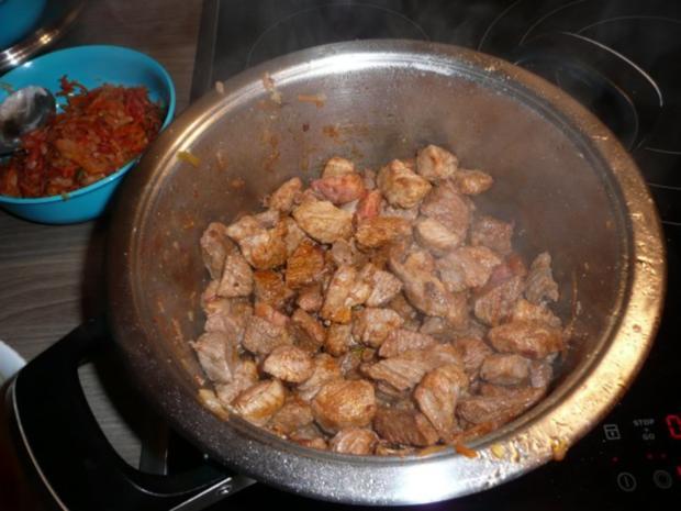 Steckrüben+ Kartoffeln + Rindergulasch. - Rezept - Bild Nr. 11