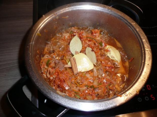 Steckrüben+ Kartoffeln + Rindergulasch. - Rezept - Bild Nr. 12