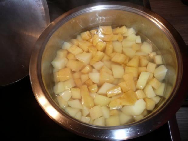 Steckrüben+ Kartoffeln + Rindergulasch. - Rezept - Bild Nr. 14