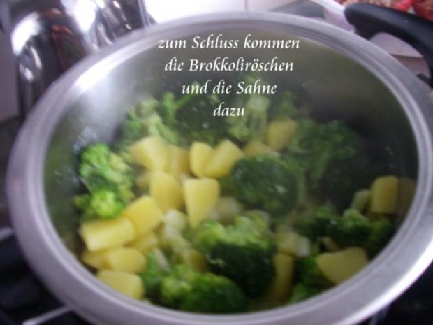 Brokkoli - Rahm - Kartoffeln - Rezept - Bild Nr. 8