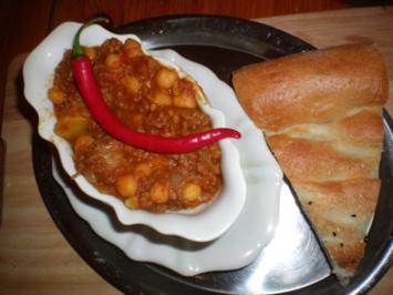 tawschil hummus  - Rezept