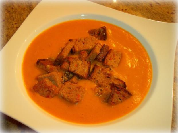 Indische Kürbis-Kokos-Suppe - Rezept