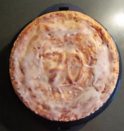 Apfelkuchen, gedeckt - Rezept