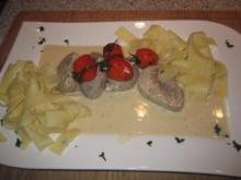 Schweinefilet in Gorgonzolasauce - Rezept